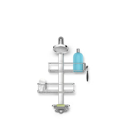 adjustable shower caddy - with showerhead - front image