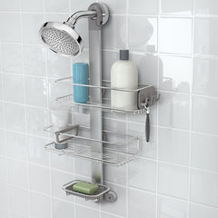 adjustable shower caddy - lifestyle image
