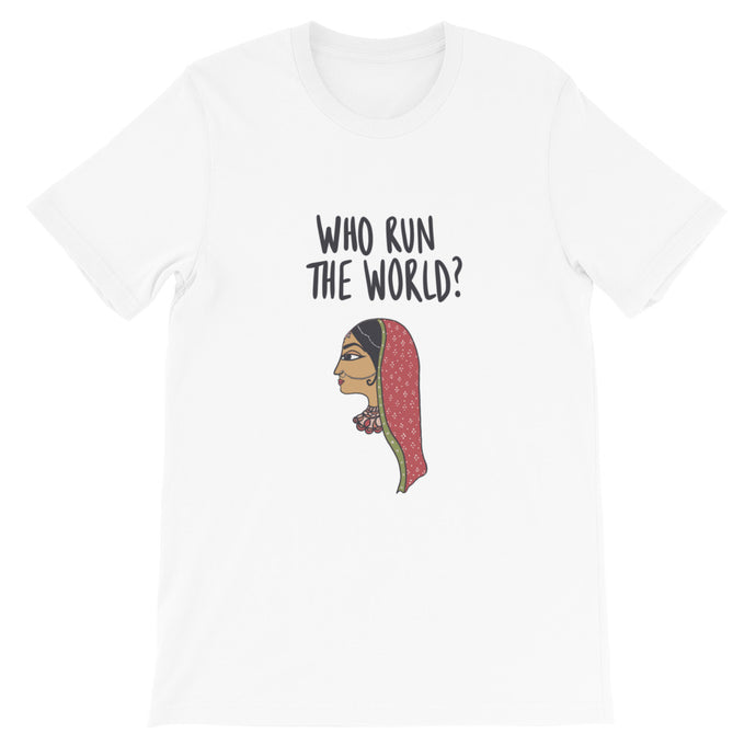 WHO RUN THE WORLD TEE