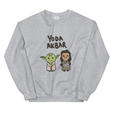 Load image into Gallery viewer, YODA AKBAR SWEATSHIRT
