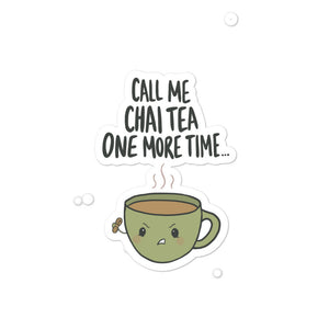 CHAI TEA STICKER