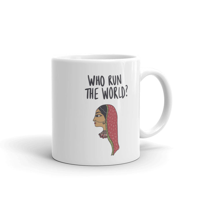 WHO RUN THE WORLD MUG