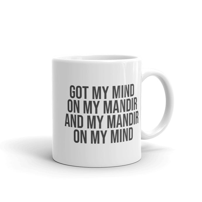 MIND ON MANDIR MUG