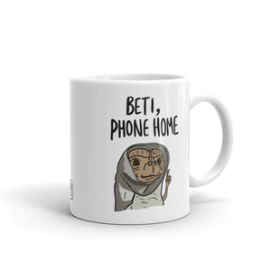 BETI PHONE HOME MUG (reversible!)