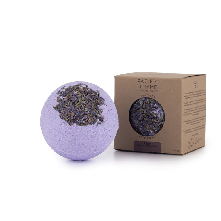 Rest 100mg CBD Bath Bomb