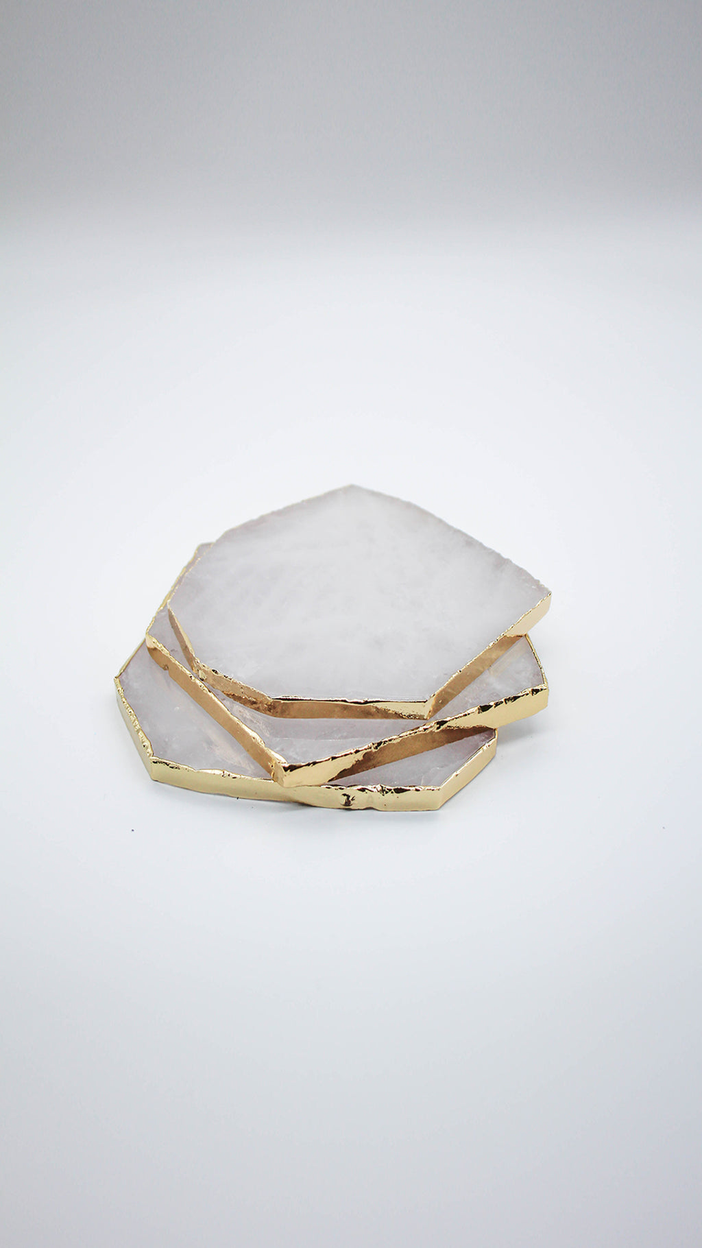 Clear Quartz - Jewelry Coaster (Single Coaster)