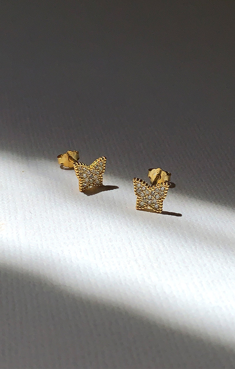 Petite Wings - Stud Earrings