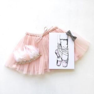 Releve Ballet Print - Little Oak + Co