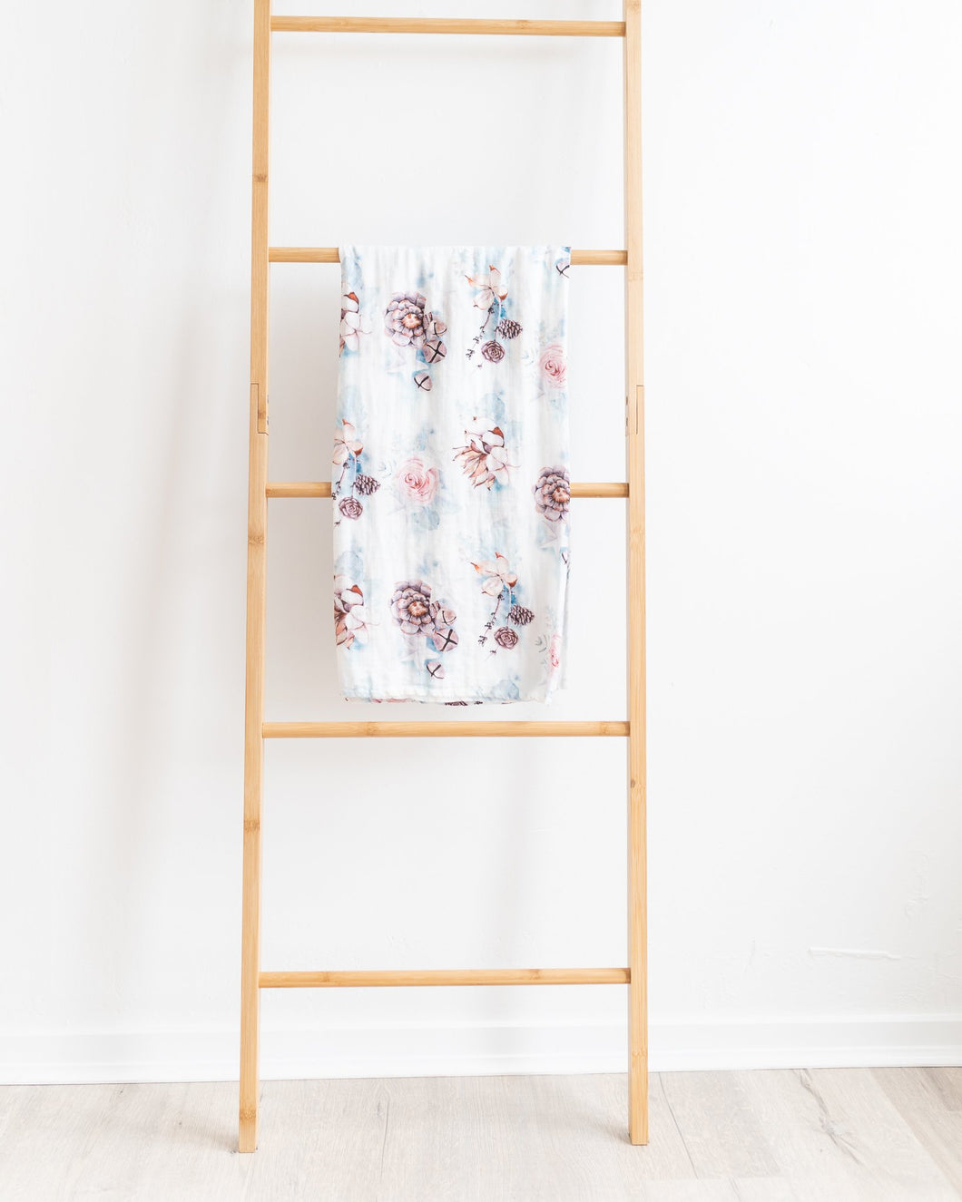 Aspen Bamboo Muslin Swaddle Wrap - Little Oak + Co