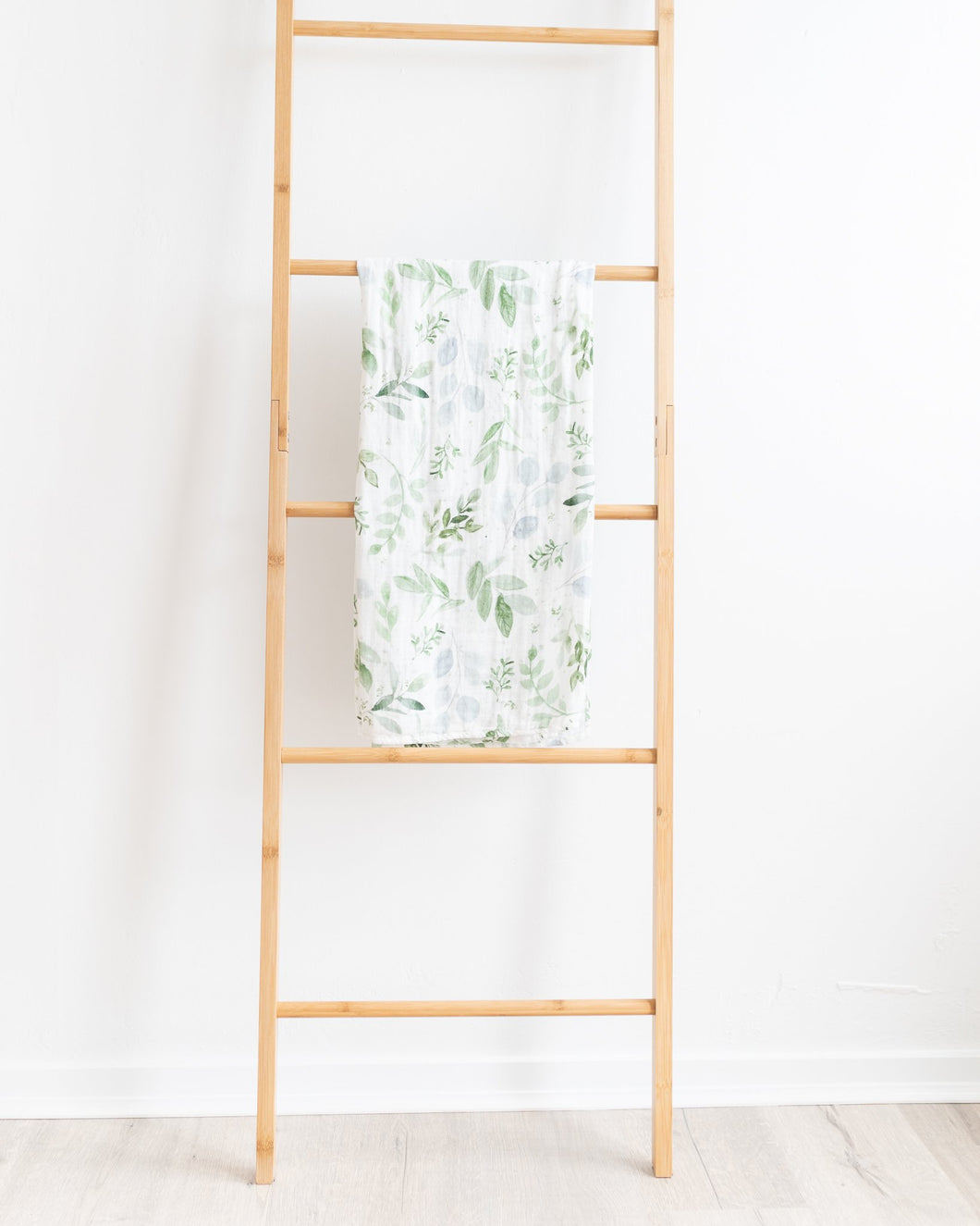 Evergreen Bamboo Muslin Swaddle Wrap - Little Oak + Co