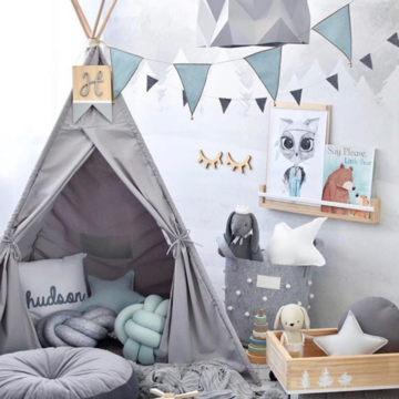 Grey Teepee - Wild Dove - Little Oak + Co
