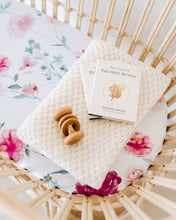 Bassinet Sheet/Change Pad Cover - Wanderlust - Little Oak + Co