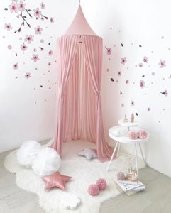 Spinkie Sheer Canopy - Dusty Pink - Little Oak + Co
