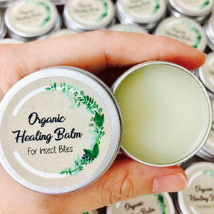 Organic Healing Balm For Insect Bites