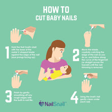How to cut baby nails