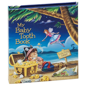 Baby Tooth Book - Pirate Boy - Little Oak + Co