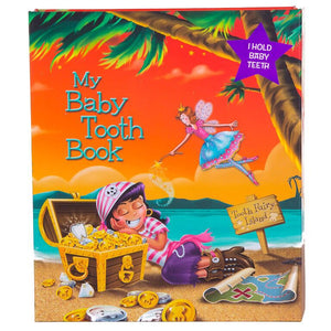 Baby Tooth Book - Pirate Girl