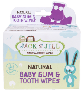 Jack N' Jill Natural Baby Gum & Tooth Wipes - Little Oak + Co