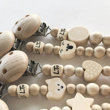 Natural Koala Boho Soother Chain - Little Oak + Co