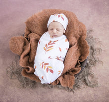 Wildfire Snuggle Swaddle & Beanie Set - Little Oak + Co