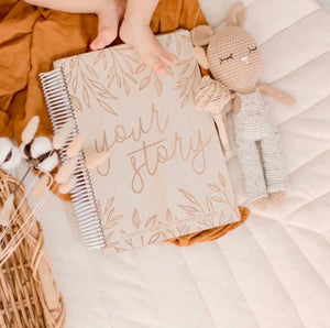 Your Story - A Baby Memory Keepsake Book - Little Oak + Co