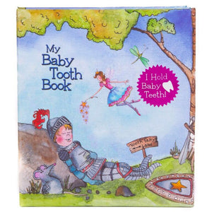 Baby Tooth Book - Fairyland Boy - Little Oak + Co