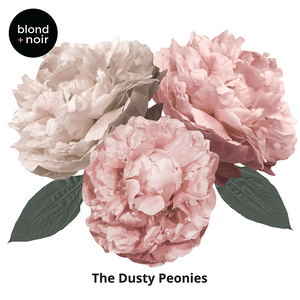 Dusty Peonie Wall Decals