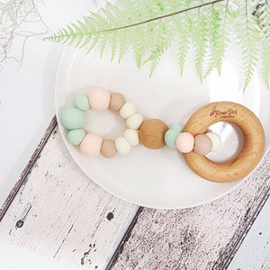 Infinity Teething Toy - Little Oak + Co
