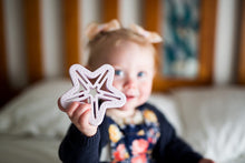 Shooting Star Teether - Marble - Little Oak + Co