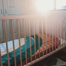 Desert Rainbow Cot Sheet - Little Oak + Co