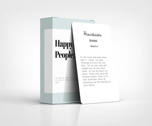 Happy Little People Card Deck - Little Oak + Co