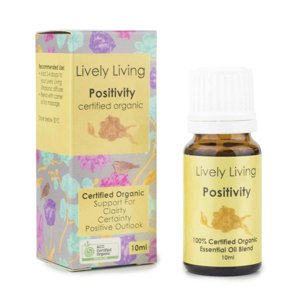 Positivity - Organic Essential Oil Blend - Little Oak + Co
