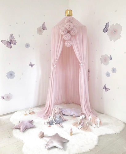 Spinkie Dreamy Canopy - Pale Rose - Little Oak + Co