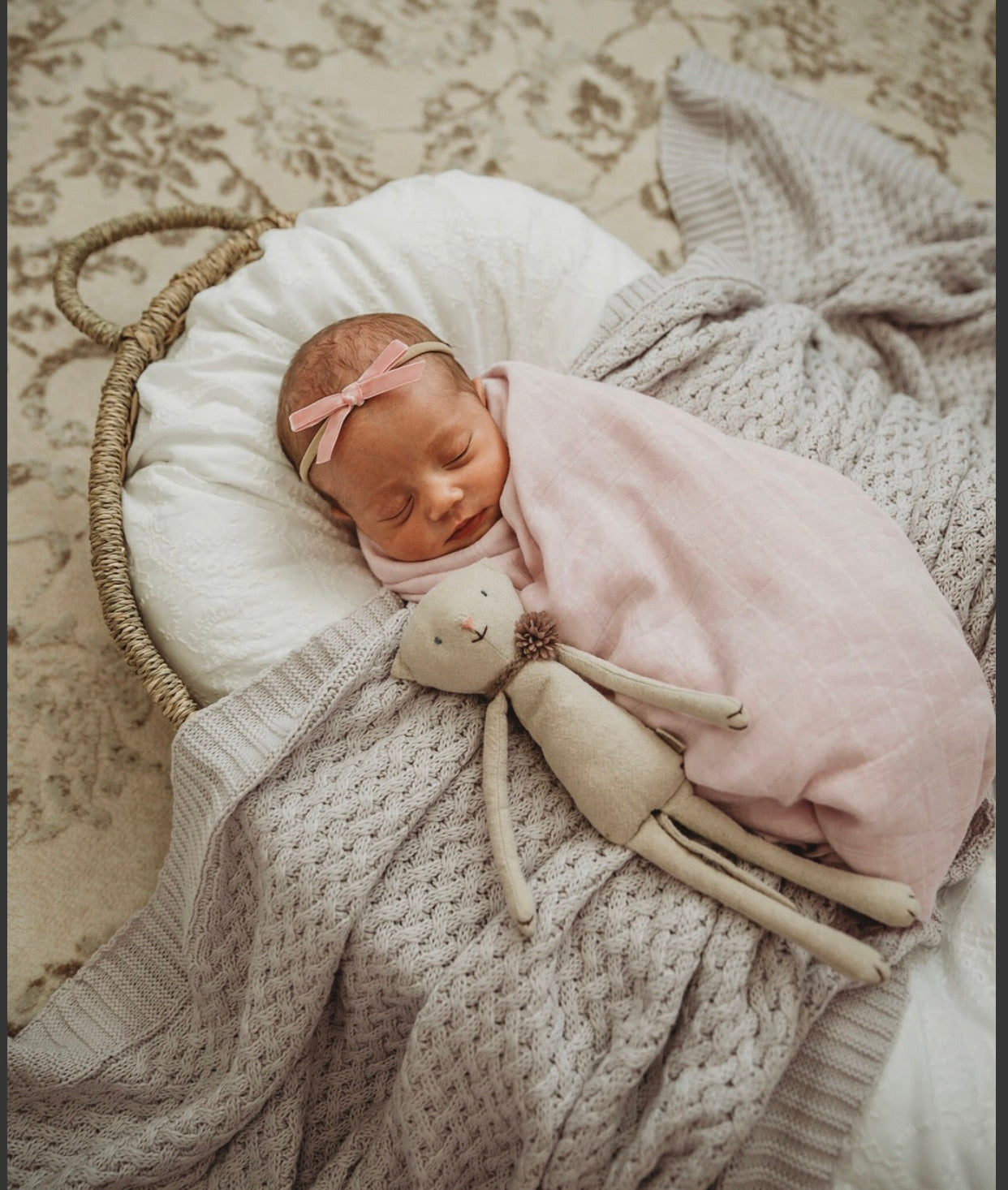 Fairytale Organic Muslin Wrap - Little Oak + Co