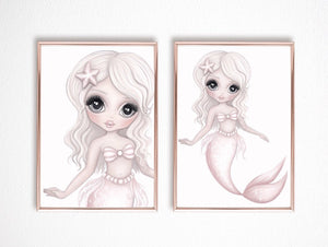 Jewel Mermaid Full Print - Little Oak + Co