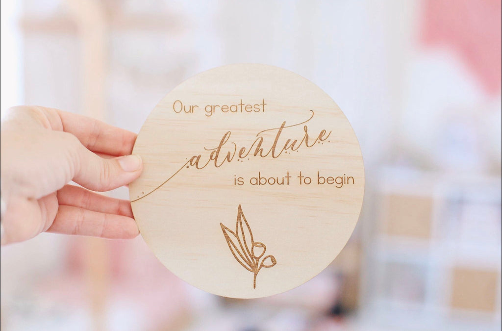 Single Announcement Disc - Our Greatest Adventure - Little Oak + Co