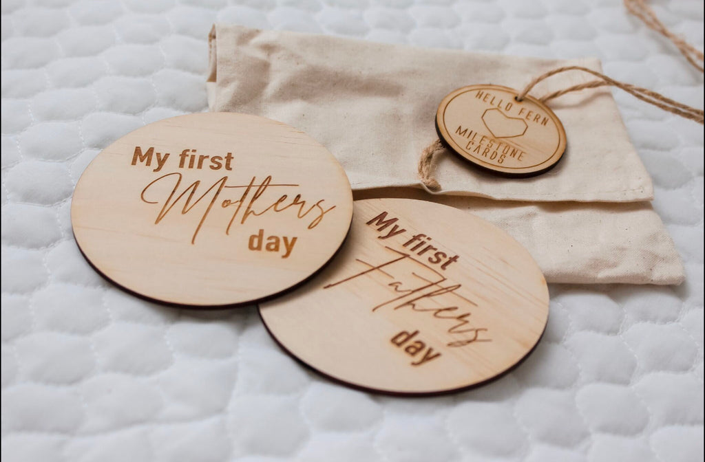 Wooden Special Calendar Date Discs - Australiana - Little Oak + Co