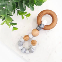Infinity Silver Teething Toy - Little Oak + Co