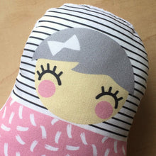 Sprinkles Girl 'Baby Babushka' organic cotton rattle