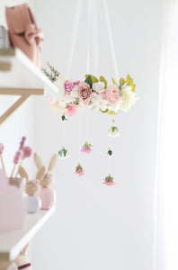 Wildflower Nursery Mobile - Little Oak + Co