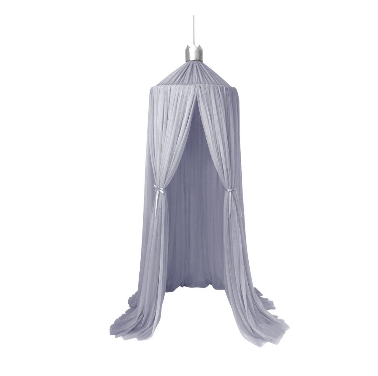 Spinkie Dreamy Canopy - Light Grey - Little Oak + Co