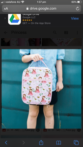 MontiiCo Insulated Lunch Bag - Princess - Little Oak + Co