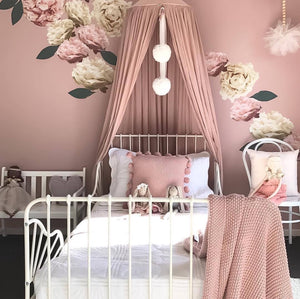 Peachy Peonies Wall Decals