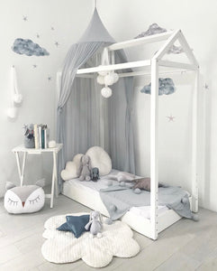 Spinkie Sheer Canopy - Mist - Little Oak + Co