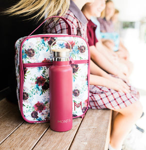 MontiiCo Insulated Lunch Bag - Floral - Little Oak + Co