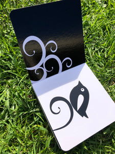 Black and White Baby Board Book - Little Oak + Co