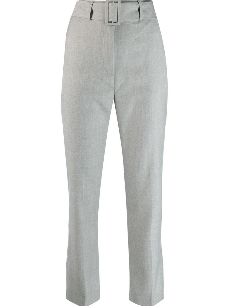 Cloud grey pant with tie