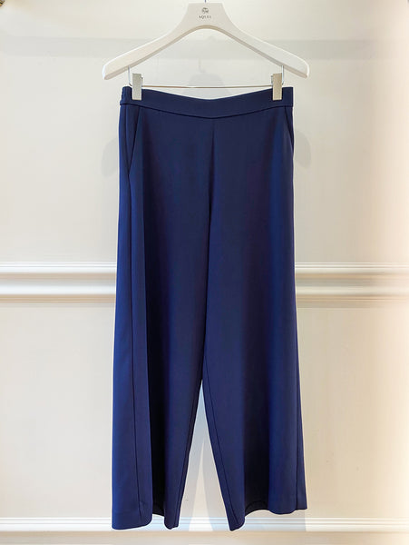 Jennifer Navy  Wide Leg Trousers
