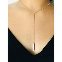 Zeina Dainty Lariat Necklace