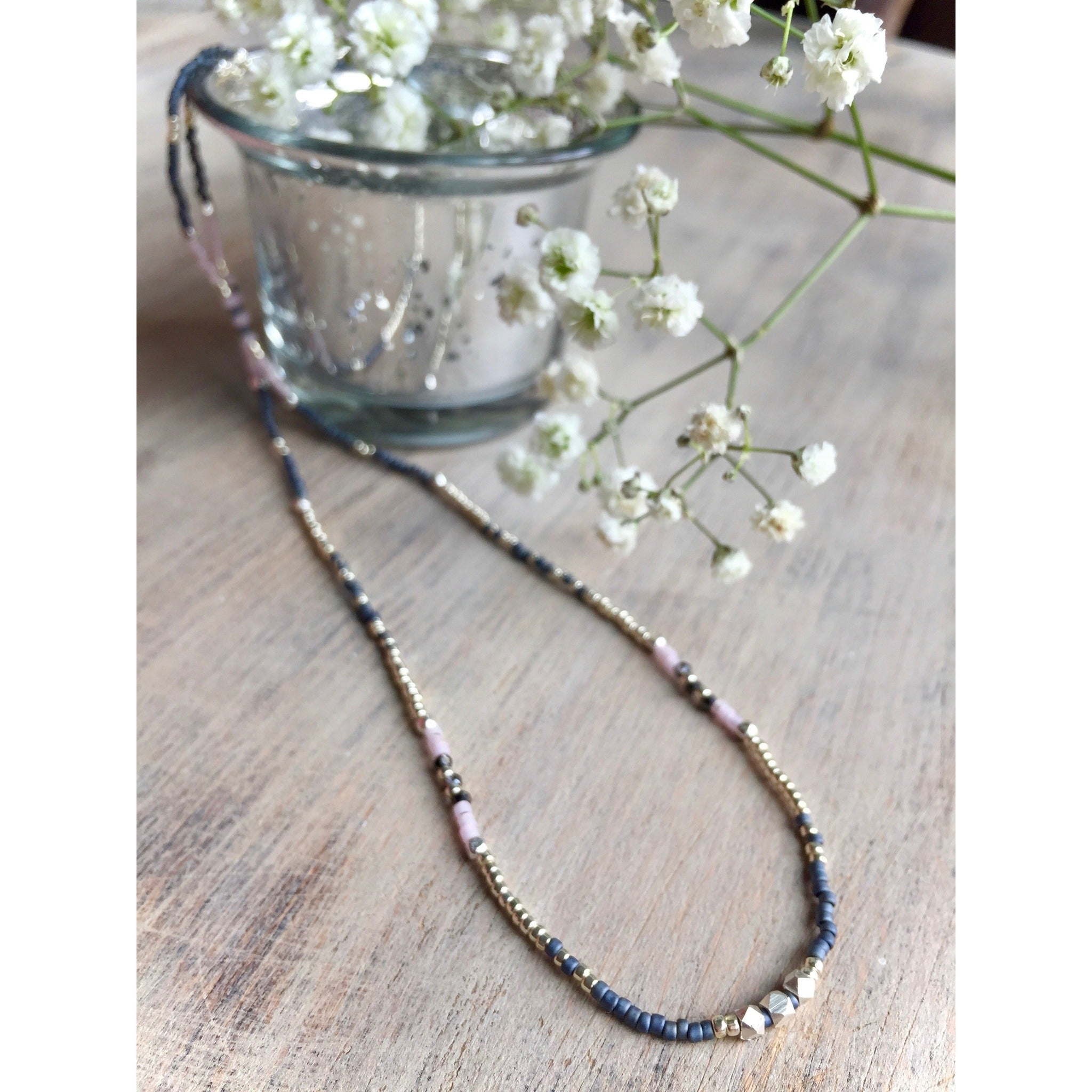 Bella Beaded Necklace - Nifty Sparkles